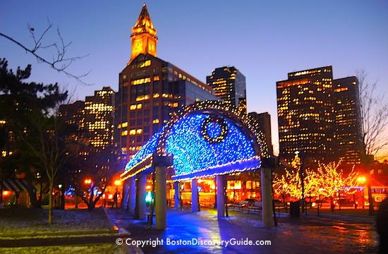 Boston Discovery Guide - Boston city scene