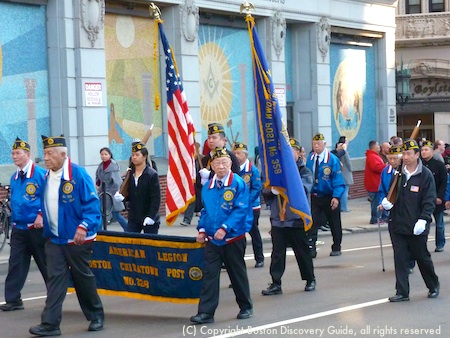 Veterans from American Legion Boston Chinatown Post No. 328