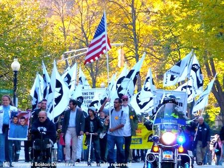 Veterans for Peace Veterans Day Parade in Boston