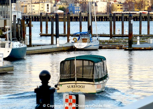 Photo of Boston Water Taxi drop-off point