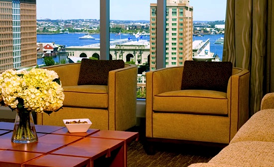 Holiday Decorations Set the Stage for New Year's Eve Boston Hotels Specials