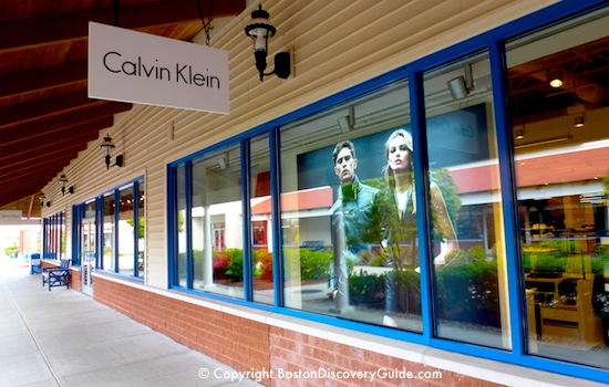Calvin Klein Outlet at Wrentham Village