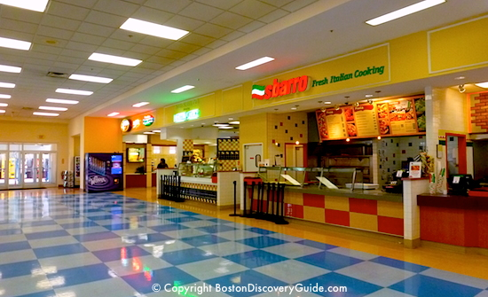 Wrentham Village food court