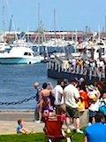 Boston Trolley Tour Stop:  Downtown waterfront