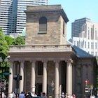 King's Chapel on Freedom Trail in Boston