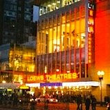 Loews Theater on Boston Common, site of Boston International Film Festival