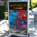 Mapparium sign - Boston MA