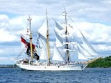 Dewaruci visit to Boston for Tall Ships