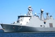 HMSC Esbern Shore visit to Boston for Tall Ships
