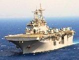 USS Wasp - tall ships Boston parade
