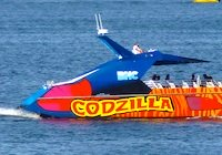 Codzilla - favorite Boston cruise for teenagers and thrill-seekers