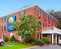 Comfort Inn hotel near Gillette stadium near Boston MA
