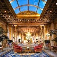 Fairmont Copley Plaza lobby in Boston MA