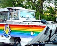 Duck Boat - Popular Boston sightseeing tour