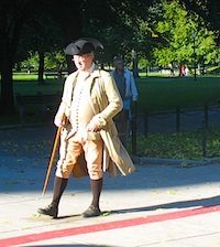 Photo of Boston Freedom Trail tour guide