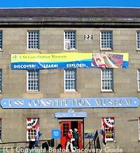 Constitution Museum in Boston's Charlestown neighborhood