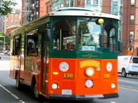 Boston Trolley sightseeing tours