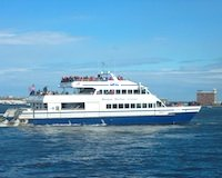 Photo of cruise boat for Historic Boston Harbor sightseeing cruise tour