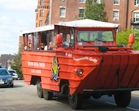 Photo of Boston Duck Tour Boat - favorite Boston sightseeing tour