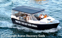 Boston Water Taxi from Black Falcon Cruise Terminal to Faneuil Hall Marketplace
