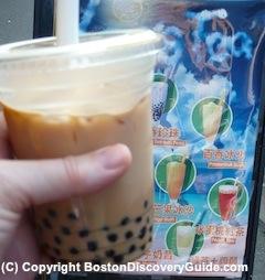 Bubble Tea in Boston's Chinatown