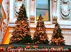 Boston events for November and December