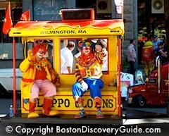 Columbus Day parade in Boston