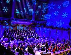 Boston Holiday Pops show at Symphony Hall