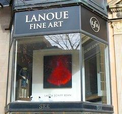 Newbury Street art galleries include Lanoue Fine Art