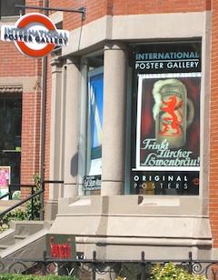 newbury street art galleries in boston include international poster gallery