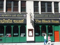 Enjoy Boston nightlife in Boston Irish pubs such as An Tua Nua in Brighton neighborhood