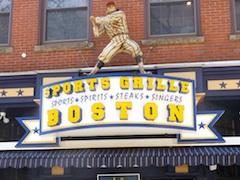 Boston Nightlife - Sports Grille near TD Garden