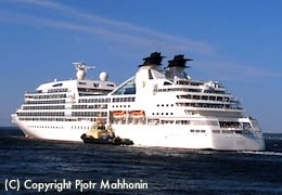 Seabourn Sojourn's cruises from Boston to New England and Canada