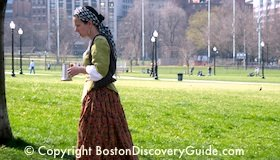 Boston History Timeline - Puritans build Boston