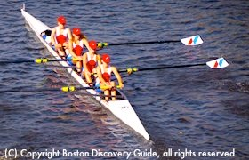Head of the Charles Regatta in Boston