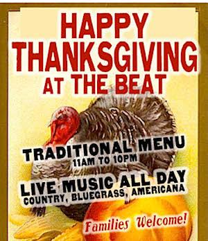 Beat Brasserie in Cambridge MA / Boston Thanksgiving - www.boston-discovery-guide.com