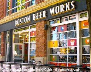 Boston Beer Works near Fenway Park and TD Garden