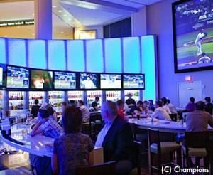 Champions Sports Bar at the Boston Copley Marriott