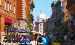 Holland America's Veendam fall foliage cruises in Boston