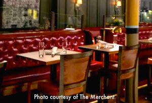 Thanksgiving dinner at The Merchant in Boston