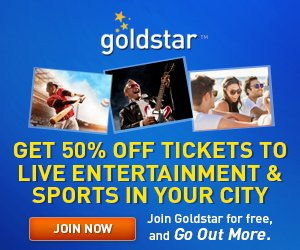 Half price tickets to Boston events, shows, cruises, games