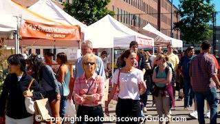 SoWa Market in Boston's South End