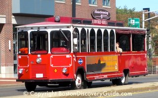 Boston trolley tours