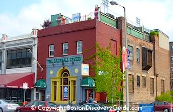 Baseball Tavern in Boston's Fenway neighborhood