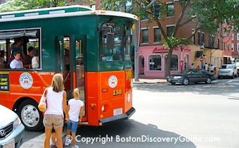 Boston tours for kids