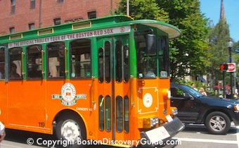 Photo of Boston Beantown Trolley Tour /  www.boston-discovery-guide.com