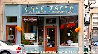 Cafe Jaffa in Boston's Back Bay