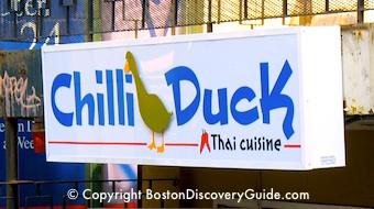 Chilli Duck - Back Bay Restaurant