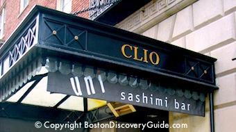 Clio at the Eliot Hotel in Boston's Back Bay