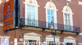 Boston Nightlife includes Improv Asylum comedy club in Boston's North End